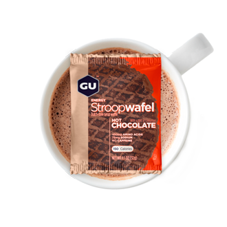 Вафли GU Energy Stroopwafel Hot Chocolate  (Горячий шоколад)