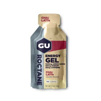 Энергетический гель GU Roctane Energy Gel Chai latte 35 мг кофеина (Чай латте)